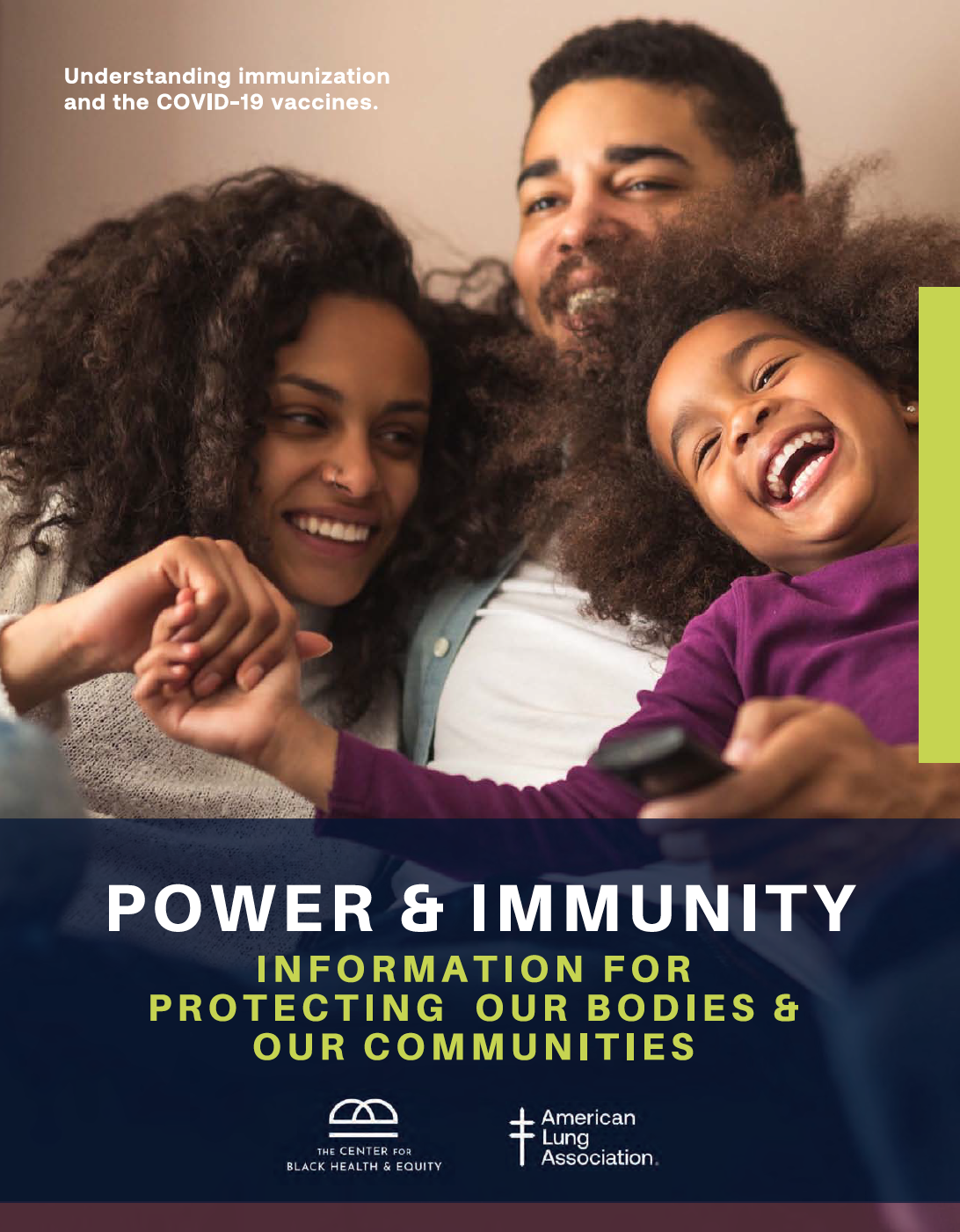 Cover Page of Power & Immunity Informational Guide